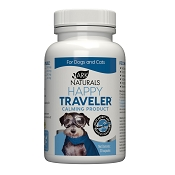 Ark Naturals Happy Traveler Dog & Cat Capsules, 30 capsules