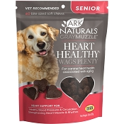 Ark Naturals Gray Muzzle Heart Health Senior Dog Treats, 90 count