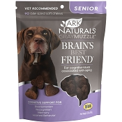 Ark Naturals Gray Muzzle Memory Health Senior Dog Treats, 90 count