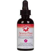 Aroma Paws Canine Aromatherapy Geranium Cedarwood Massage Oil for Dogs