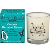 Aroma Paws Coconut Hawaiian Papaya Odor Neutralizing Soy Candle