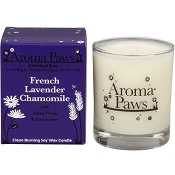 Aroma Paws French Lavender Chamomile Pet Odor Neutralizing Soy Candle