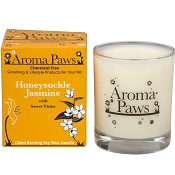Aroma Paws Honeysuckle and Jasmine Pet Odor Neutralizing Soy Candle