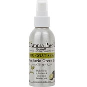 Aroma Paws Mandarin with Green Tea Deodorizing & Conditioning Dog Coat Spray