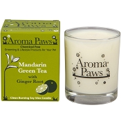 Aroma Paws Mandarin with Green Tea Pet Odor Neutralizing Soy Candle