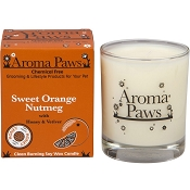 Aroma Paws Sweet Orange with Nutmeg Pet Odor Neutralizing Soy Candle
