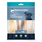 Barkworthies Puppy Variety Pack Dog Treats
