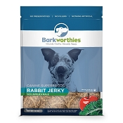 Barkworthies Rabbit Jerky with Apple & Kale Dog Treats, 12-oz bag