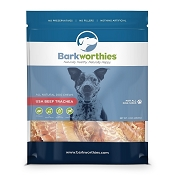 Barkworthies USA Beef Trachea Dog Treats, 8-oz Bag