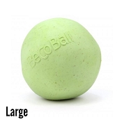Beco Ball Eco-Friendly Green Dog Toy, Large