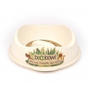 Beco Bowl Natural Eco-Friendly Slow Feed Pet Bowl, Large