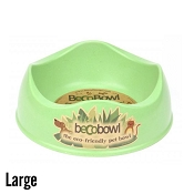 Beco Pets Bowl Green Eco-Friendly Pet Bowl, Large
