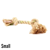 Beco Jungle Double Knot Hemp Rope Dog Toy, Small