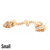 Beco Jungle Triple Knot Hemp Rope Dog Toy, Small