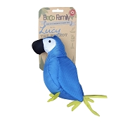 Beco Lucy the Parrot Eco-Friendly Plush Dog Toy