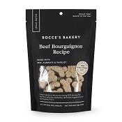 Bocce's Bakery Small Batch Beef Bourguignon Recipe Dog Treats, 8-oz Bag