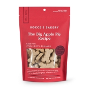 Bocce's Bakery The Big Apple Pie Dog Biscuits, 8-oz Bag
