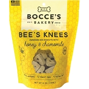 Bocce's Bakery Bee's Knees Honey & Chamomile Dog Treats, 5-oz Bag