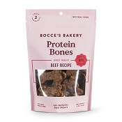 Bocce's Bakery Protein Bones Beef Recipe Dog Treats, 5-oz Bag