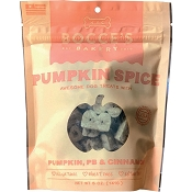 Bocce's Bakery Pumpkin Spice Dog Treats, 5-oz Bag