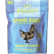 Bocce's Bakery Spring Roast Dog Treats, 5-oz Bag
