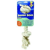 Booda 2-Knot Rope Dog Toy Bone, X-Large