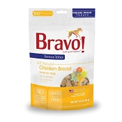 Bravo! Bonus Bites Chicken Breast Freeze-Dried Dog & Cat Treats