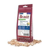 Bravo! Healthy Medley Turkey Medley Freeze-Dried Cat Treats, 1.25-oz bag
