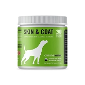Canine Matrix Skin & Coat Organic Supplement for Dogs, 200 Grams