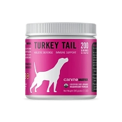 Canine Matrix Turkey Tail Mushroom Organic Supplement for Dogs, 200 Grams