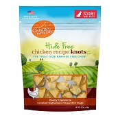 Canine Naturals Hide Free Chicken Recipe Mini Knots Dog Chew Treats, 12-Count Bag