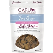 Caru Tuna Bites Soft 'n Tasty Dog Treats, 4-oz Bag