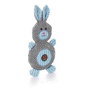 Charming Pet Ani-Mates Bunny Stuffing-Free Dog Toy