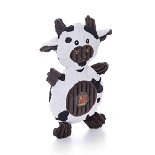 Charming Pet Ani-Mates Cow Stuffing-Free Dog Toy