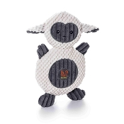 Charming Pet Ani-Mates Lamb Stuffing-Free Dog Toy