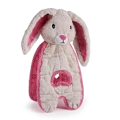 Charming Pet Cuddle Tugs Blushing Bunny Dog Toy