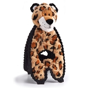 Charming Pet Cuddle Tugs Lively Leopard Dog Toy