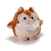 Charming Pet Barkers Howling Hooters Beige Owl Dog Toy