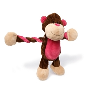 Charming Pet Pulleez™ Monkey Dog Toy