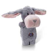 Charming Pet Puppet Squeaks Bunny Dog Toy