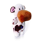 Charming Pet Puppet Squeaks Cow Dog Toy