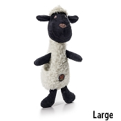 Charming Pet Scruffles Lamb Dog Toy, Large