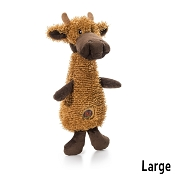 Charming Pet Scruffles Moose Dog Toy, Large