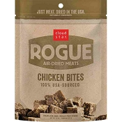 Cloud Star Rogue Air-Dried Chicken Bites Dog Treats, 7.8-oz Bag