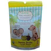 Cocotherapy Pure Hearts Coconut Cookies Banana Brulee Organic Dog Treats
