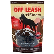 Presido Off-Leash Mini Trainers Smoky Beef Recipe Dog Treats, 5-oz Bag