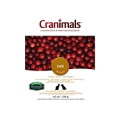 Cranimals Gold Cranberry Extract + DHA Cat & Puppy Supplement, 4.2-oz Bag