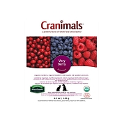Cranimals Very Berry Antioxidant Dog & Cat Supplement, 4.2-oz Bag