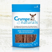 Crumps Naturals Beef Tendersticks Dog Treats, 4.2-oz Bag