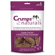 Crumps Naturals Lamb Chops Freeze-Dried Dog Treats, 4.2-oz Bag
